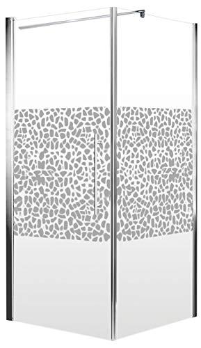 Duschkabine Dusche 90x90 Eckeinstieg Duschabtrennung Glas (ESG) Schulte - 3