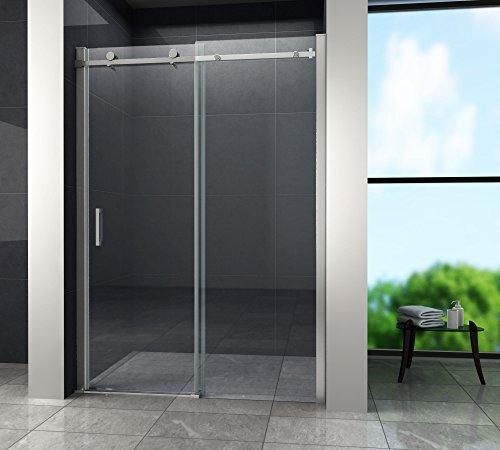 Designer Duschtür Schiebetür MORA mit Easy-Clean-Oberflächenbeschichtung