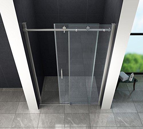 Designer Duschtür Schiebetür MORA mit Easy-Clean-Oberflächenbeschichtung - 2