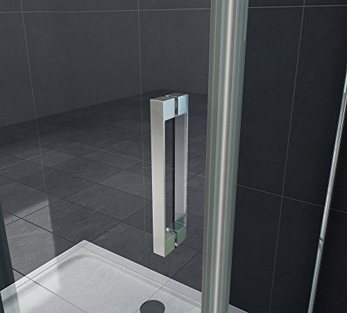 Designer Duschtür Schiebetür MORA mit Easy-Clean-Oberflächenbeschichtung - 5