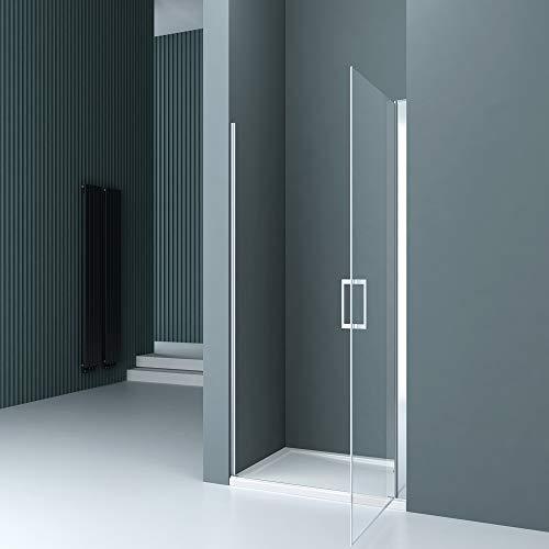 Rahmenlose Duschtür Drehtür Teramo24 mit Nanobeschichtung - 3