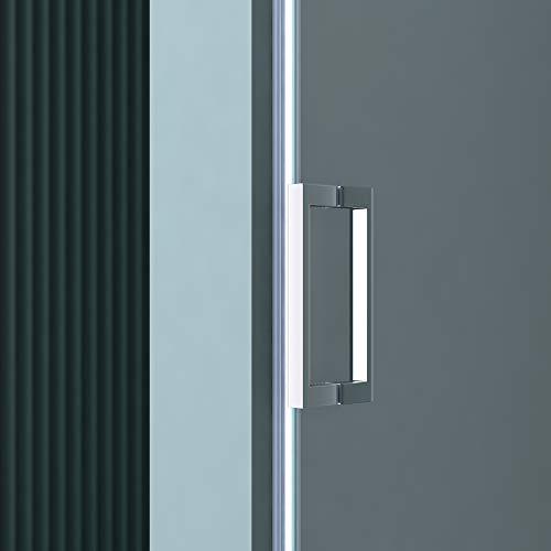 Rahmenlose Duschtür Drehtür Teramo22 mit Nanobeschichtung - 5