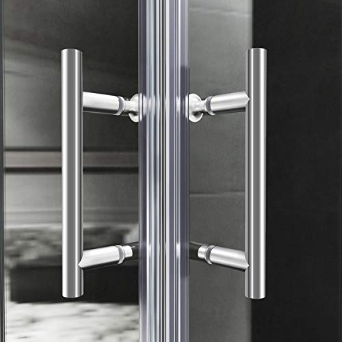 Duschkabine mit Eckeinstieg und Doppelschiebetüren - 6