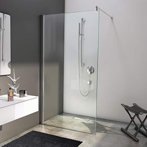 bijon Designer Duschwand mit auswählbarem Glas und Nanobeschichtung