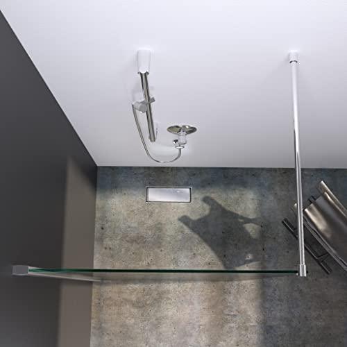 bijon Designer Duschwand mit auswählbarem Glas und Nanobeschichtung - 2
