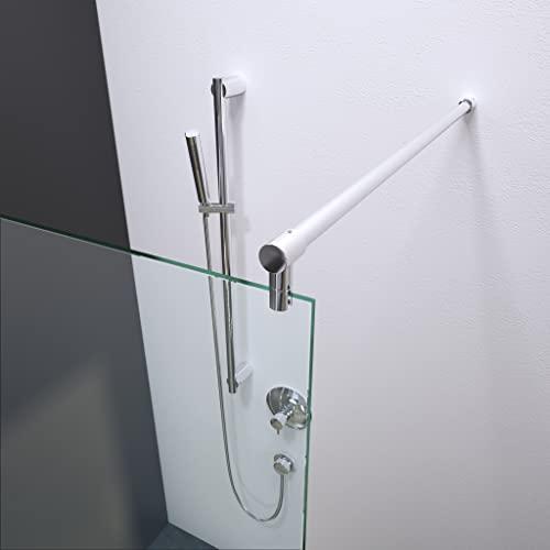 bijon Designer Duschwand mit auswählbarem Glas und Nanobeschichtung - 3