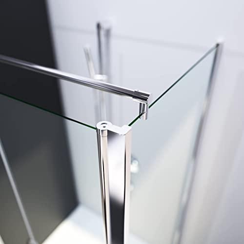 Designer Duschkabine mit Pendeltüren und Lotoseffekt - 2