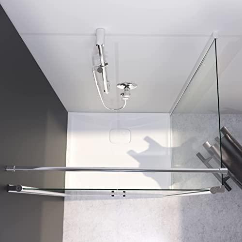 Designer Duschkabine mit Pendeltüren und Lotoseffekt - 3