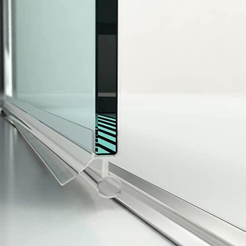 Designer Duschkabine mit Pendeltüren und Lotoseffekt - 5
