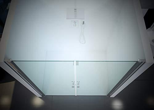 Duschtür Pendeltür für eine Nische mit Nanobeschichtung - 4
