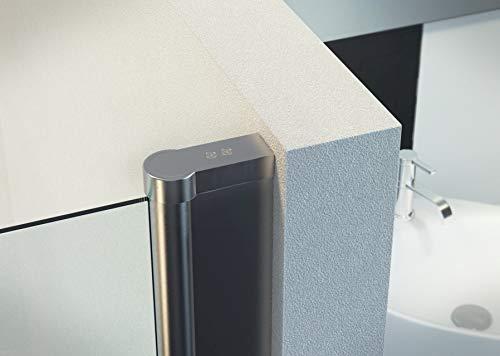 Duschtür Pendeltür für eine Nische mit Nanobeschichtung - 7