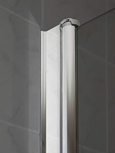 Duschtür Pendeltür für eine Nische mit Nanobeschichtung - 6