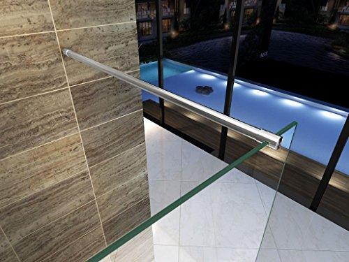 Teilsatinierte Duschwand ENTRY-PF mit Beschichtung für leichtere Reinigung - 5