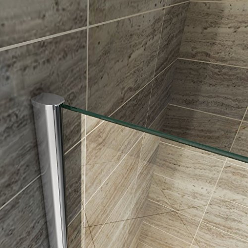 Teilsatinierte Duschwand ENTRY-PF mit Beschichtung für leichtere Reinigung - 3