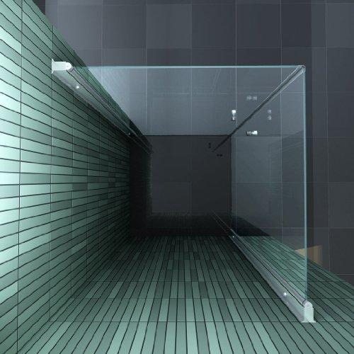 Rahmenlose Duschkabine BANHO mit Beschichtung zur leichteren Reinigung - 2