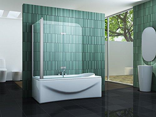 Eck-Badewannenaufsatz PERINTO von Impex-Bad