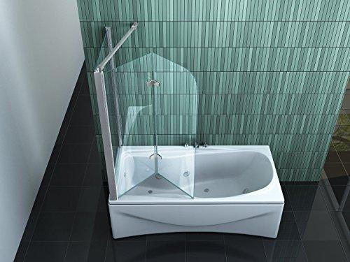 Eck-Badewannenaufsatz PERINTO 70 - 3