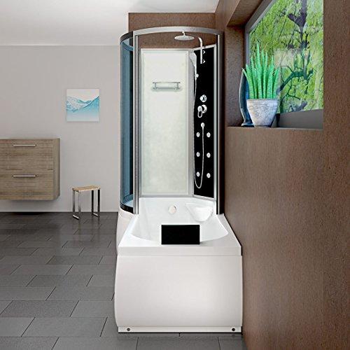 AcquaVapore DTP8050-A000R Wanne Duschtempel Badewanne Dusche Duschkabine 98x170, EasyClean Versiegelung der Scheiben:2K Scheiben Versiegelung +79.-EUR - 4