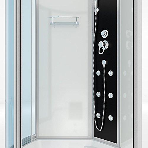AcquaVapore DTP8050-A000R Wanne Duschtempel Badewanne Dusche Duschkabine 98x170, EasyClean Versiegelung der Scheiben:2K Scheiben Versiegelung +79.-EUR - 8
