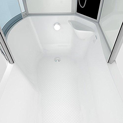 AcquaVapore DTP8050-A000R Wanne Duschtempel Badewanne Dusche Duschkabine 98x170, EasyClean Versiegelung der Scheiben:2K Scheiben Versiegelung +79.-EUR - 9