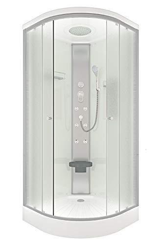 Duschtempel AcquaVapore DTP 10 mit Beschichtung zur leichteren Reinigung