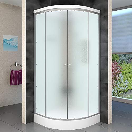 AcquaVapore DTP10-1010 Dusche Duschtempel Duschkabine Fertigdusche 90x90, EasyClean Versiegelung der Scheiben:2K Scheiben Versiegelung +79.-EUR - 3