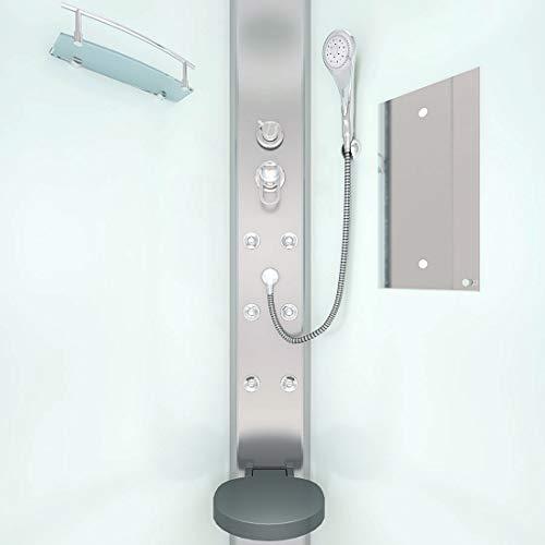 AcquaVapore DTP10-1010 Dusche Duschtempel Duschkabine Fertigdusche 90x90, EasyClean Versiegelung der Scheiben:2K Scheiben Versiegelung +79.-EUR - 7