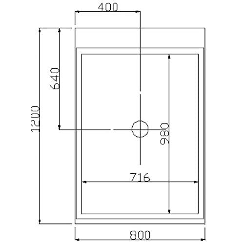Moderner U-Form Duschtempel Design M mit Dampffunktion - 7