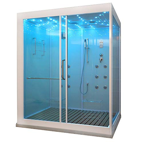 Duschtempel Design XL inklusive Dampfdusche