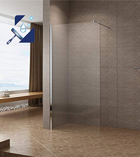 Walk-In Duschwand der Serie DIAMOND mit Nanobeschichtung