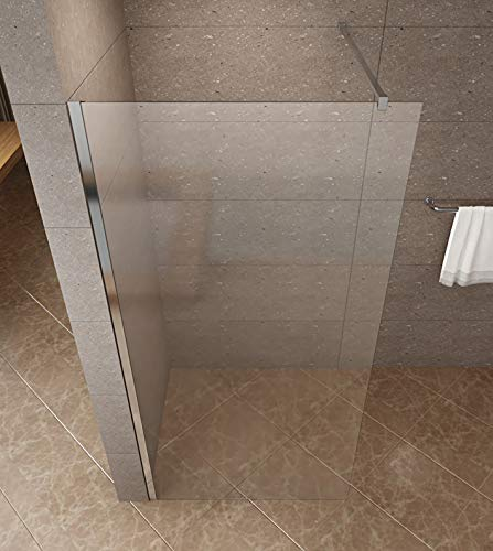 Satinierte Walk-In Duschwand der Serie DIAMOND mit Nanobeschichtung - 2