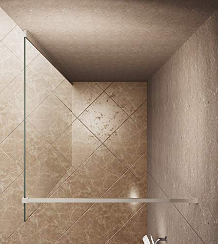 Satinierte Walk-In Duschwand der Serie DIAMOND mit Nanobeschichtung - 3