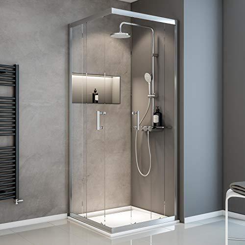 Duschkabine mit Eckeinstieg Serie Sunny von Schulte
