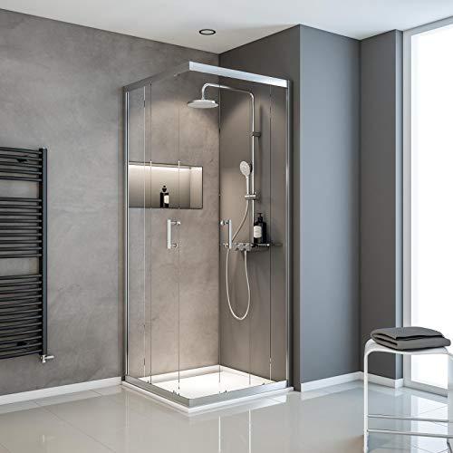 Duschkabine mit Eckeinstieg Serie Sunny von Schulte - 3
