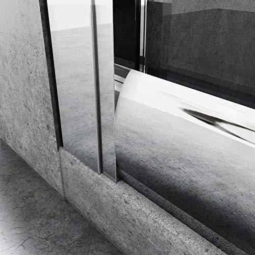 Runde Duschkabine mit Vollrahmen und Schiebetüren - 8