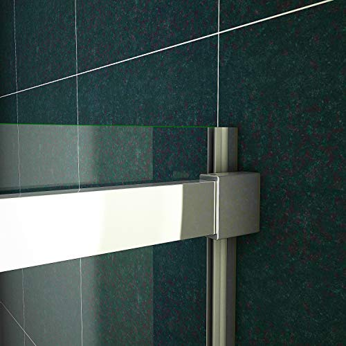 Duschtür Schiebetür für eine Nische aus Klarglas - 6