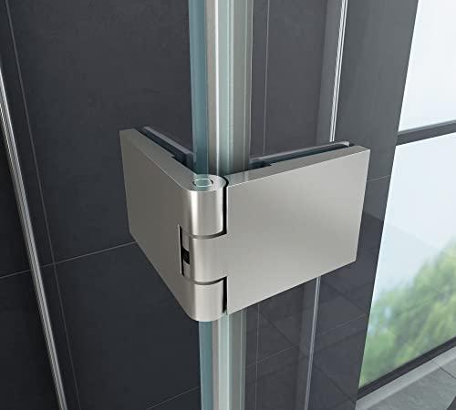 U-Duschkabine AVILO 80 x 80 x 180 ohne Duschtasse - 5