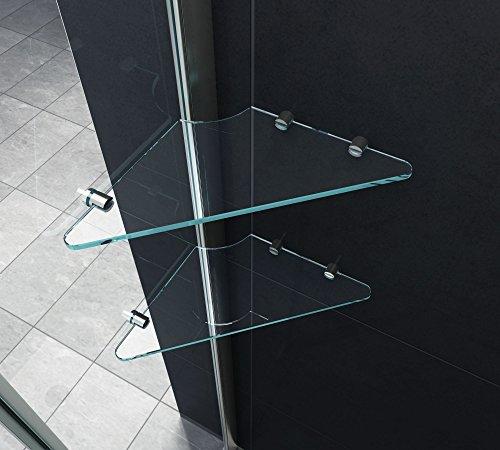Fünfeck-Duschkabine PENTAGONO mit Beschichtung zur leichteren Reinigung - 3