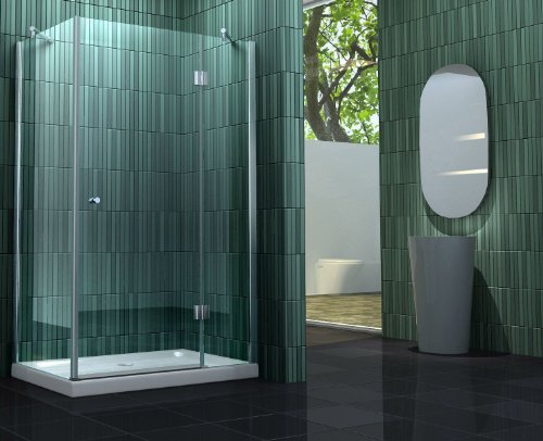 Rahmenlose Duschkabine SILL mit Beschichtung für leichtere Reinigung