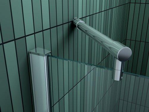 Rahmenlose Duschkabine SILL mit Beschichtung für leichtere Reinigung - 2