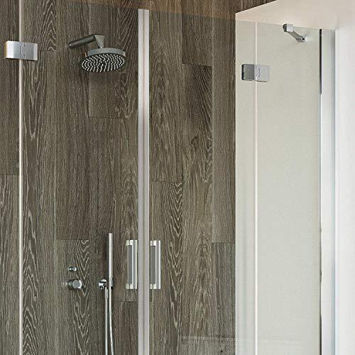 Idralite Duschtür 150CM H190 Klarglas mit Easy-Clean Mod. Flip Tür + Tür - 5