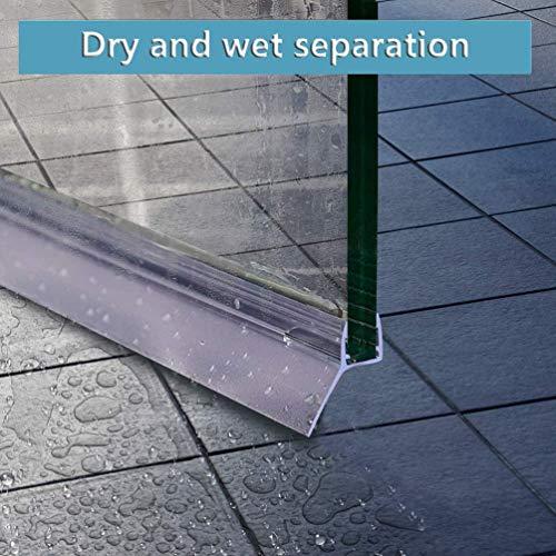 KEPEAK Duschdichtung, 1 x 300 cm H-Type Glastür Duschtür Dichtung für 6mm, 7mm, 8mm Dichtung Dusche Glastür - 5