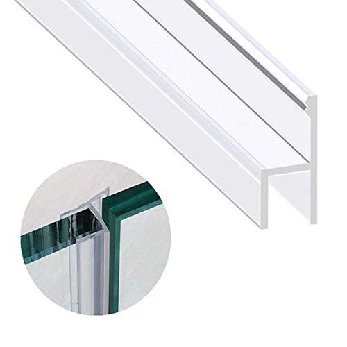 KEPEAK Duschdichtung, 1 x 300 cm H-Type Glastür Duschtür Dichtung für 6mm, 7mm, 8mm Dichtung Dusche Glastür - 8