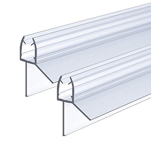 2 x 100 cm Duschdichtung für 5 - 6 mm Glasdicke