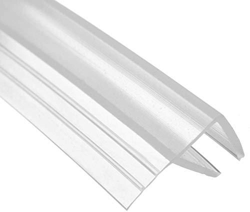 1 x 200 cm F-Typ Duschdichtung für 8 - 10 mm Glasdicke
