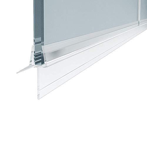 1 x 100 cm Duschdichtung für 4 - 6 mm Glasdicke