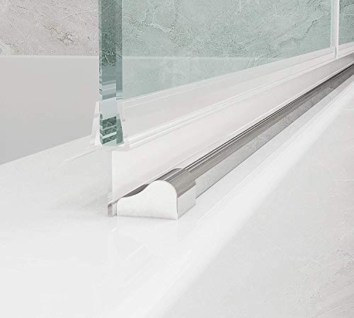 Duschkabinen, Duschdichtung Ersatzdichtung, wasserdichteAbdeckkapsel, Überlaufsicherung, für 6 mm,duschandDichtung 100 cm - 4