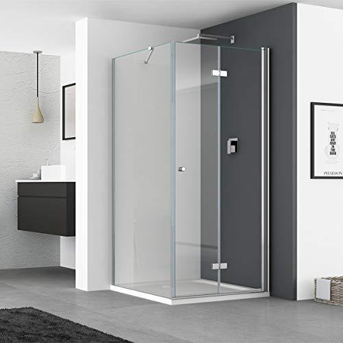 Duschkabine mit Seitenwand und Falttür von IMPTS