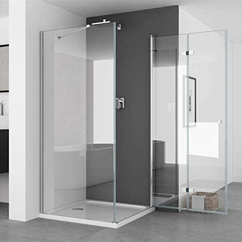 Duschkabine mit Seitenwand und Falttür von IMPTS - 2