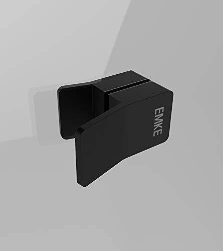 Duschkabine 80x80cm Duschabtrennung Duschtür Schwingtür Pendeltür mit Seitenwand, Duschkabinen Beschlag flächenbündig Schwarz 8mm ESG Sicherheitsglas mit Nano-Beschichtung Höhe 190cm - 4